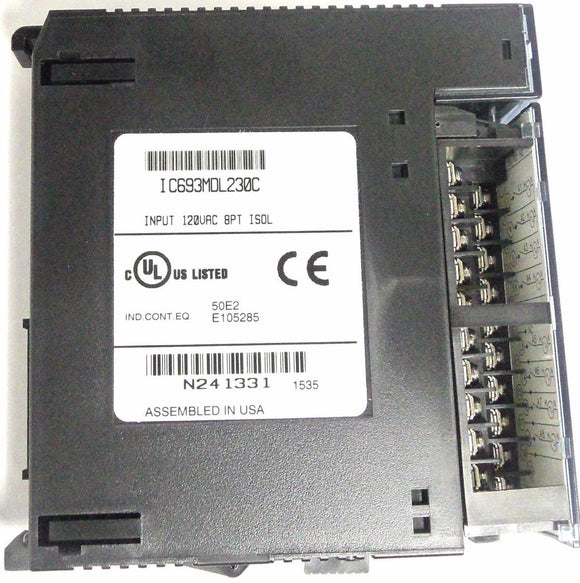 GE Fanuc Input module IC693MDL230C 120VAC 8 PT Isolated