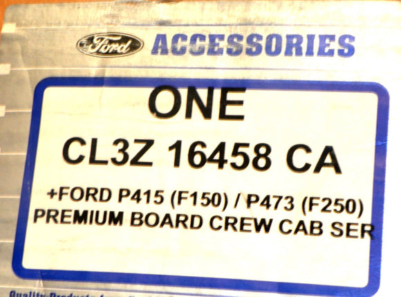 Genuine OEM Ford CL3Z-16458-CA Chrome Running Board, Right CL3Z16458CA