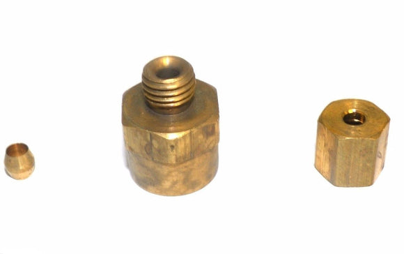 Big A Service Line 3-16622 Hydraulic Connector Fitting 1/8 x 1/8