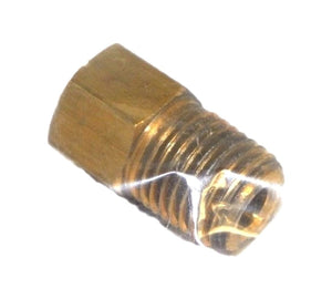 "Big A Service Line 3-12454 Brass Fitting 5/16"" 1/4"""
