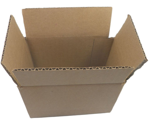 6x4x4 Cardboard Packing Mailing Shipping Boxes Corrugated Box Lot Of 10 Pcs