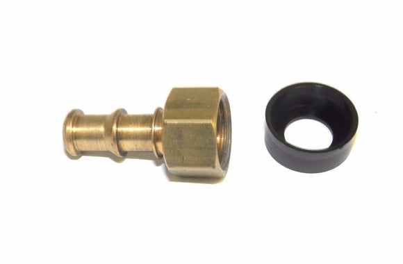 Big A Service Line 3-72440 Brass Slip-Not Fitting 1/4