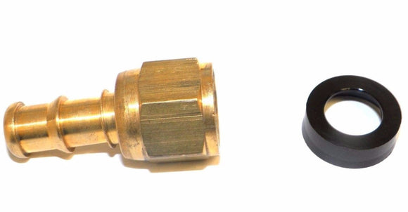 Big A Service Line 3-74160 Brass Hose Fitting, 3/8