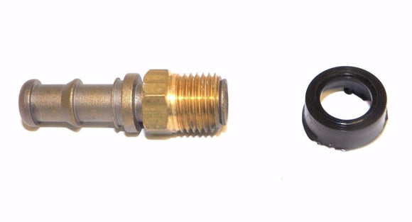 Big A Service Line 3-72140 Brass Hose Fitting, 1/4