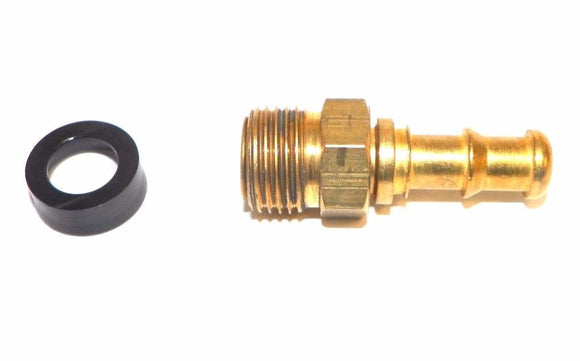 Big A Service Line 3-72165 Brass Hose Fitting Connector, 3/8