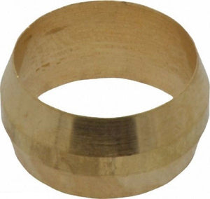 "Big A Service Line 3-16092 3/4"" Outside Diameter, Brass Compression Sleeve"