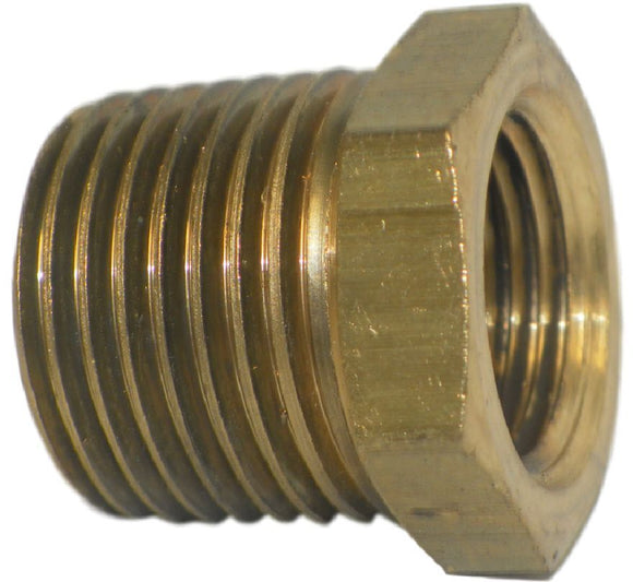 Big A Service Line 3-21062 Inverted Male Tube Connector 3/8