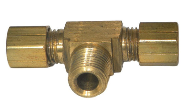 Big A Service Line 3-172320 Brass Pipe, Tee Fitting Kit 3/16