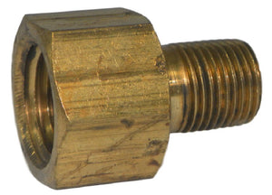 "Big A Service Line 3-22042 Female Inverted Brass Flare Fitting 1/4"" x 1/8"""