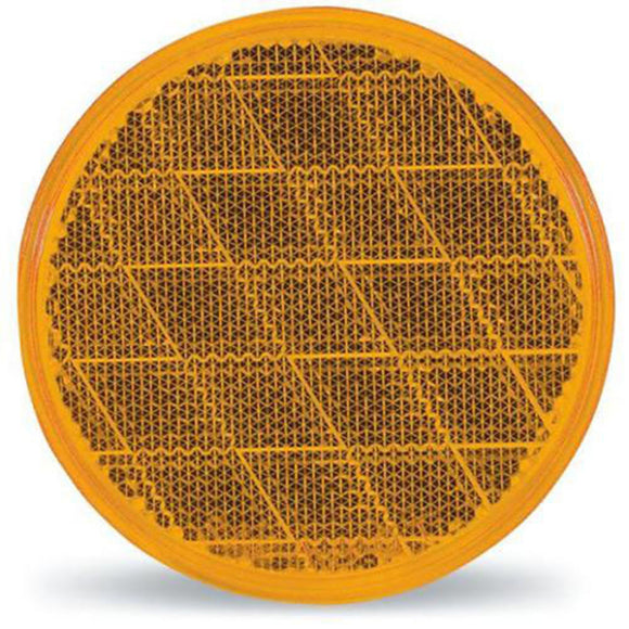 Optronics RE-21AS Reflector Round Amber