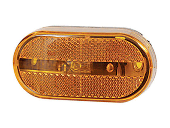 Optronics MC31-AS Oblong Clearance Light Amber