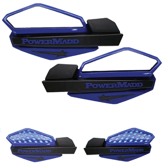 Powermadd 34204 Star Handguard System - Blue/Black