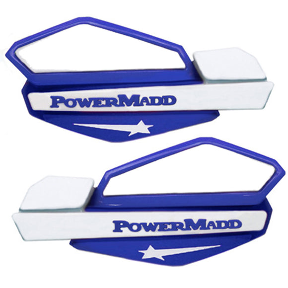 Powermadd 34221 Star Handguard - Blue/White