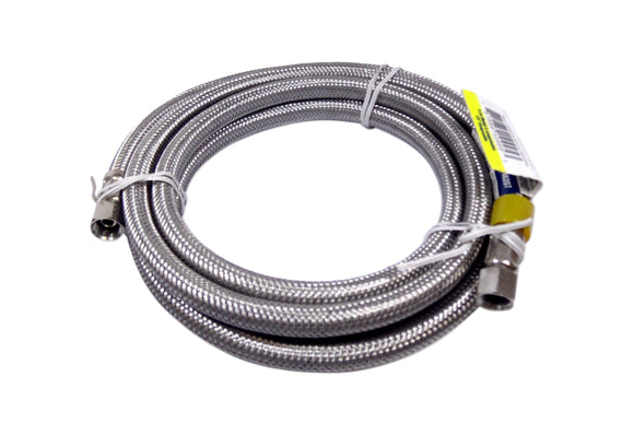 ProFlo PFX146207 Stainless Steel Ice Maker Hose 1/4