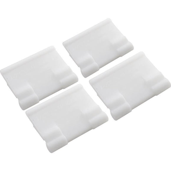 Poolvergnuegen 896584000-419 Bracket for Skirt 4 Pack - White