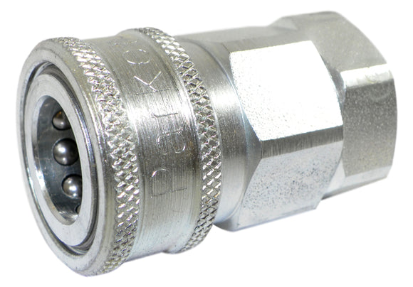 Parker VHC8-8F Hydraulic Quick Coupler W/ Female Pipe Thread