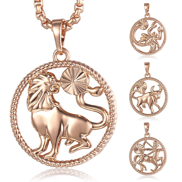 Stylish Astrology Symbol Necklace