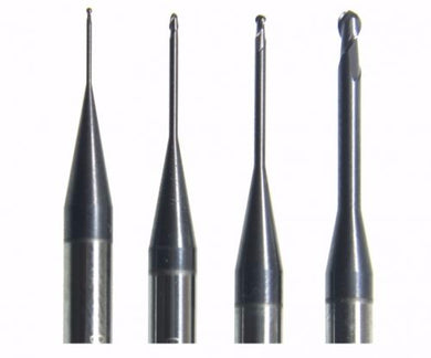 Carbide (DLC) millling Burs for vhf K4 milling machine