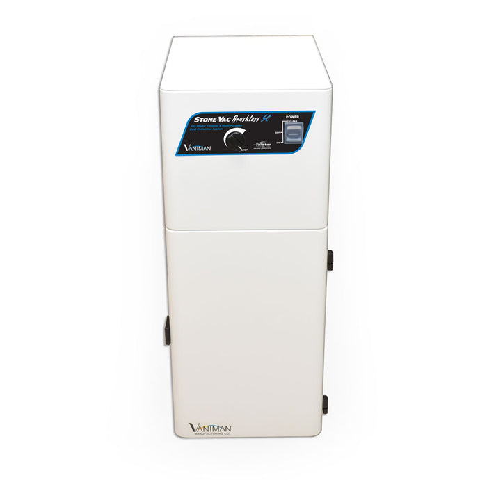 StoneVac-Brushless-SC dust collector Vaniman CAD CAM dental lab suction units extraction unit