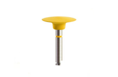 Ultra Fine Diamond Rubber Polisher 12*2mm