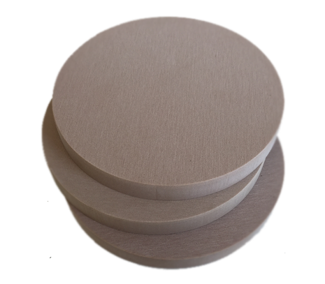 Calibration blanks (pucks) for VHF milling machine S1/K5/S2
