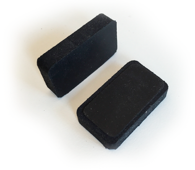 Rubber insert for vhf S2, K5 and OEM counterparts