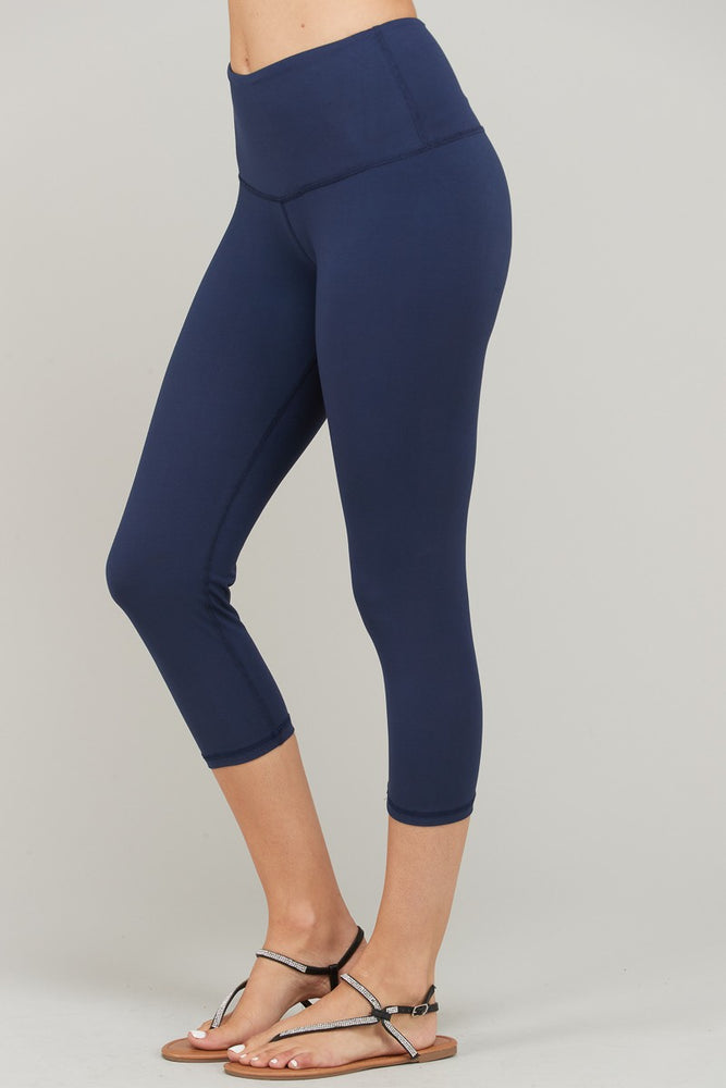 Yoga Capri - Navy