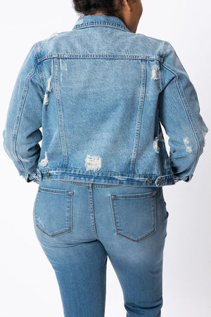 Curvy Denim Jacket