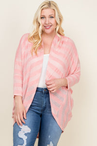 Curvy Just Peachy Cardigan