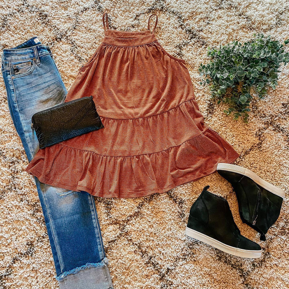 Babydoll Knit Top