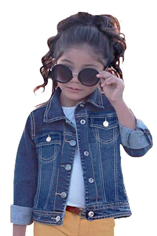 Toddler/Girls Denim Jacket