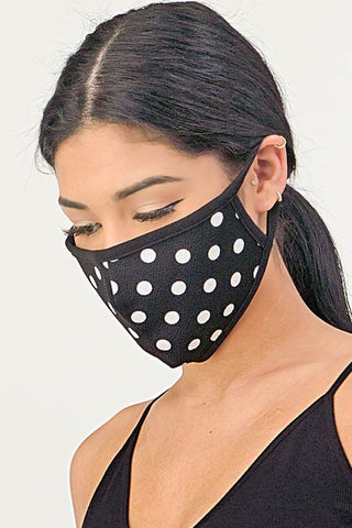 Polka Dot Mask - Kids