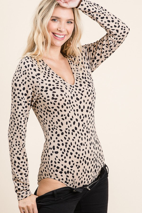 Leopard Body Suit