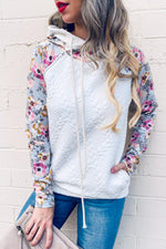 Floral Double Hoodie