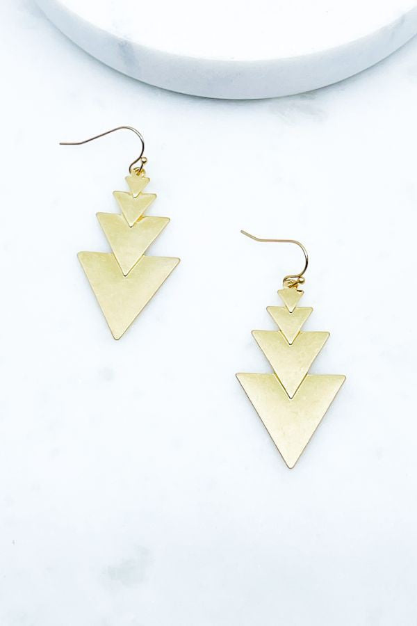 Drop Arrow Earrings