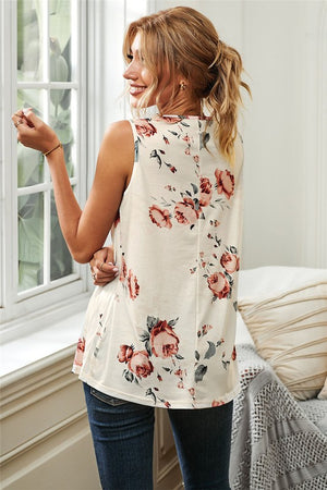 Load image into Gallery viewer, Floral Print Tank