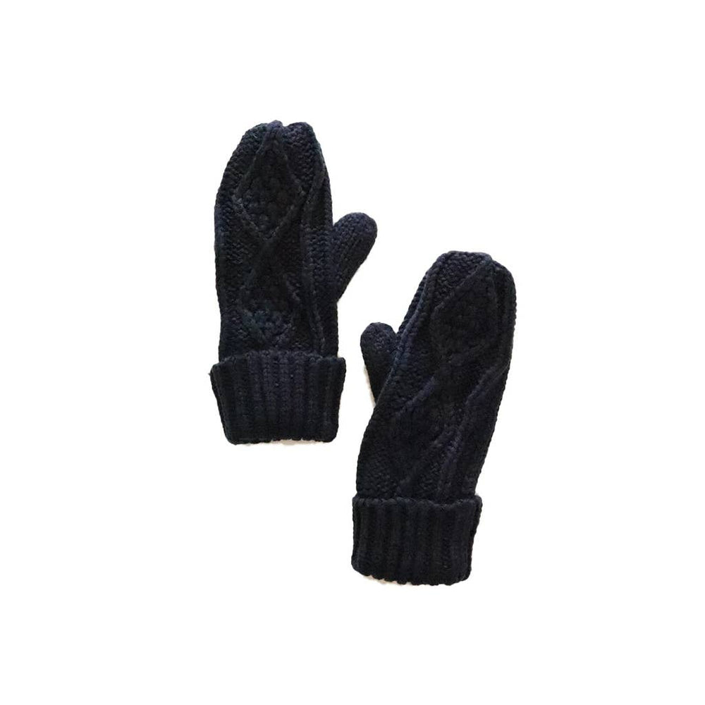 Load image into Gallery viewer, Navy Mittens