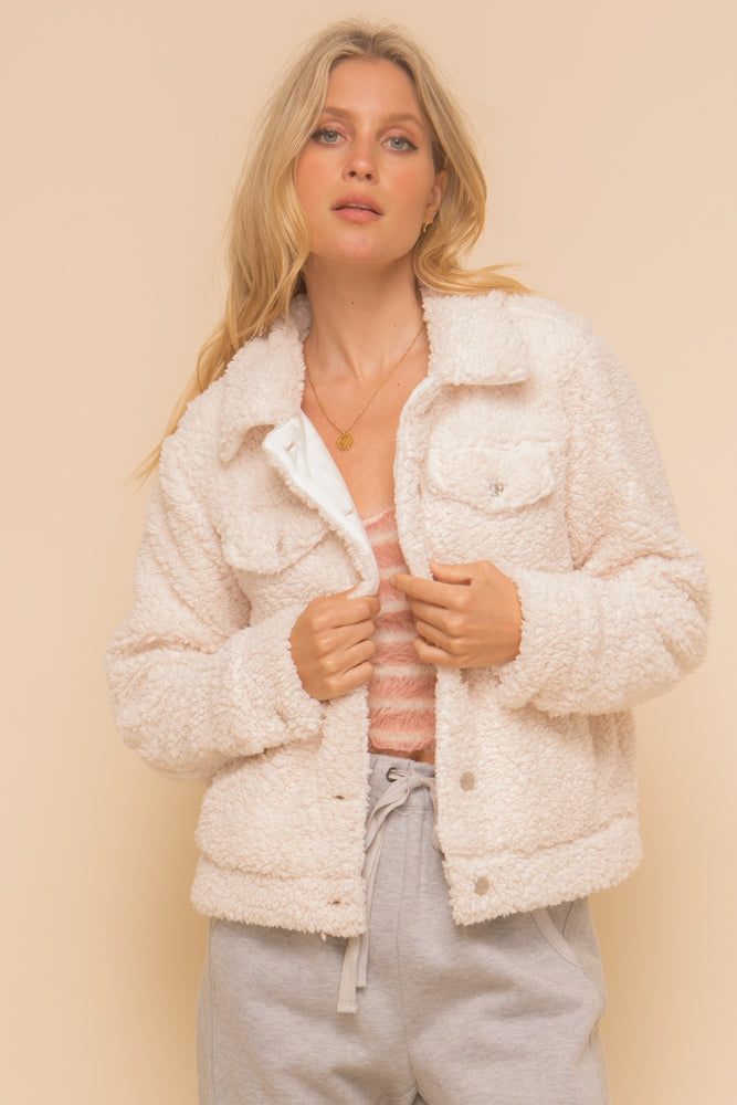 Hem & Thread Cozy Sherpa Jacket