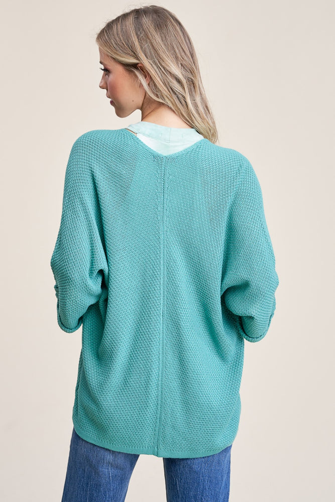 Load image into Gallery viewer, Cameron Cardigan - Aqua