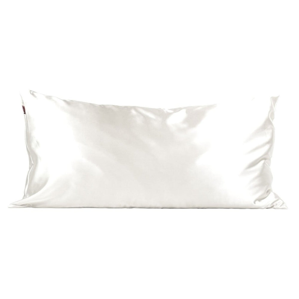 Satin Pillowcase - King Ivory