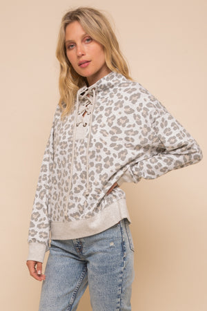 Hem & Thread Leopard Sweatshirt