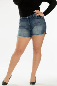 Curvy Kancan Denim Shorts