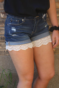 Lace Shorts Extender - Ivory
