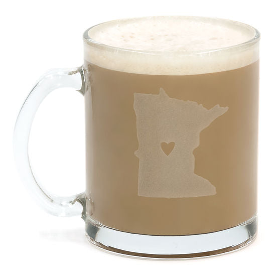 Minnesota Glass Mug Set