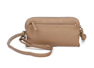 Load image into Gallery viewer, The Samantha Wallet Crossbody - Sand