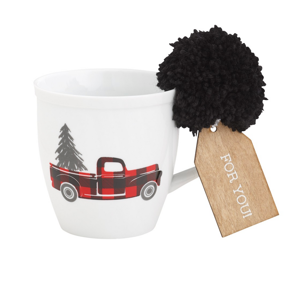 Load image into Gallery viewer, Truck Holiday Mug