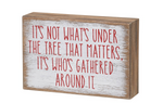 Under The Tree Sign