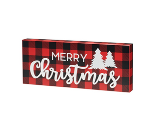 Load image into Gallery viewer, Christmas Glitter Sign