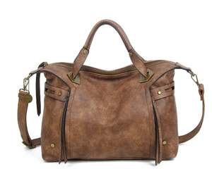 The Ali Satchel - Brown