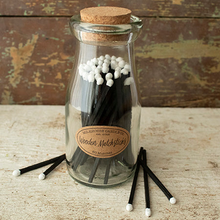 Milkbottle Wooden Matches